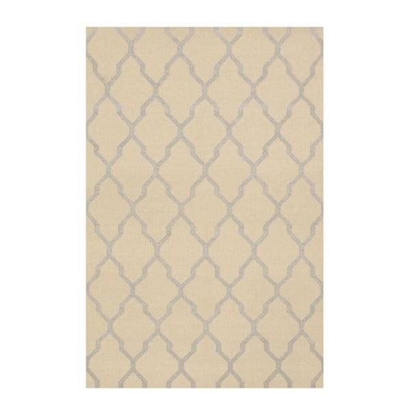 Vlněný koberec Kilim JP 11029 Beige, 120x180 cm