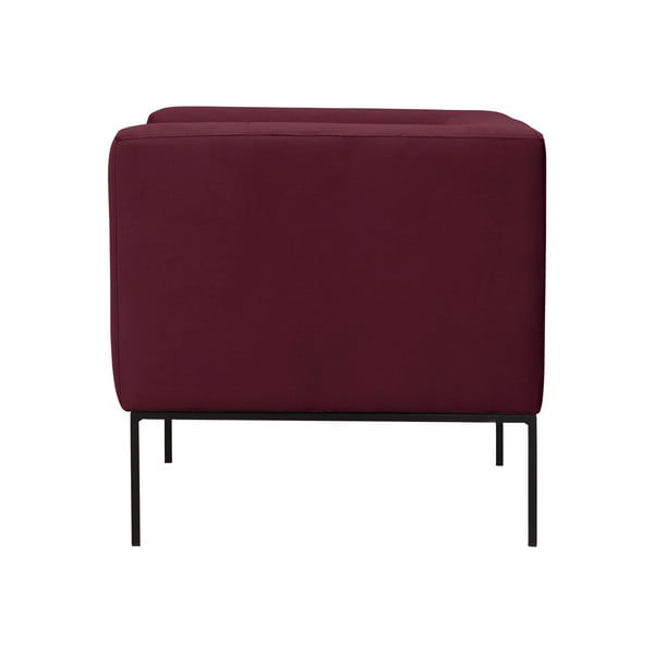 Bordeaux červené křeslo Windsor & Co Sofas Neptune