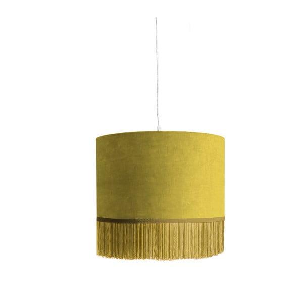 Żółta lampa wisząca Velvet Atelier Colgante