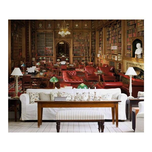 Velkoformátová tapeta Stará knihovna, 315x232 cm