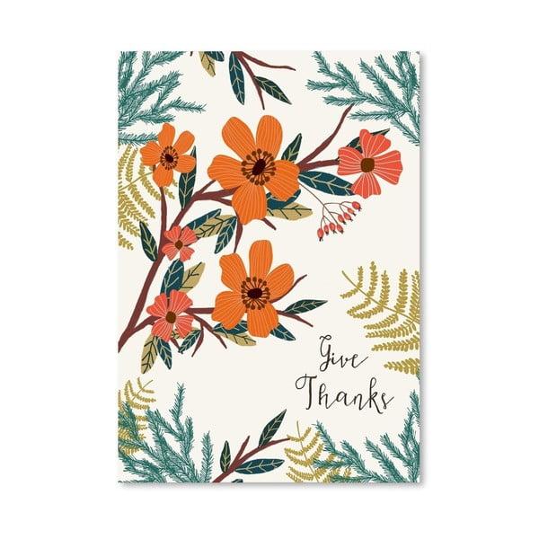 Plakát od Mia Charro - Give Thanks no.3