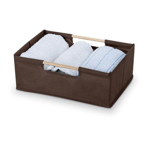 Cutie depozitare Domopak Saket, lungime 34 cm, maro