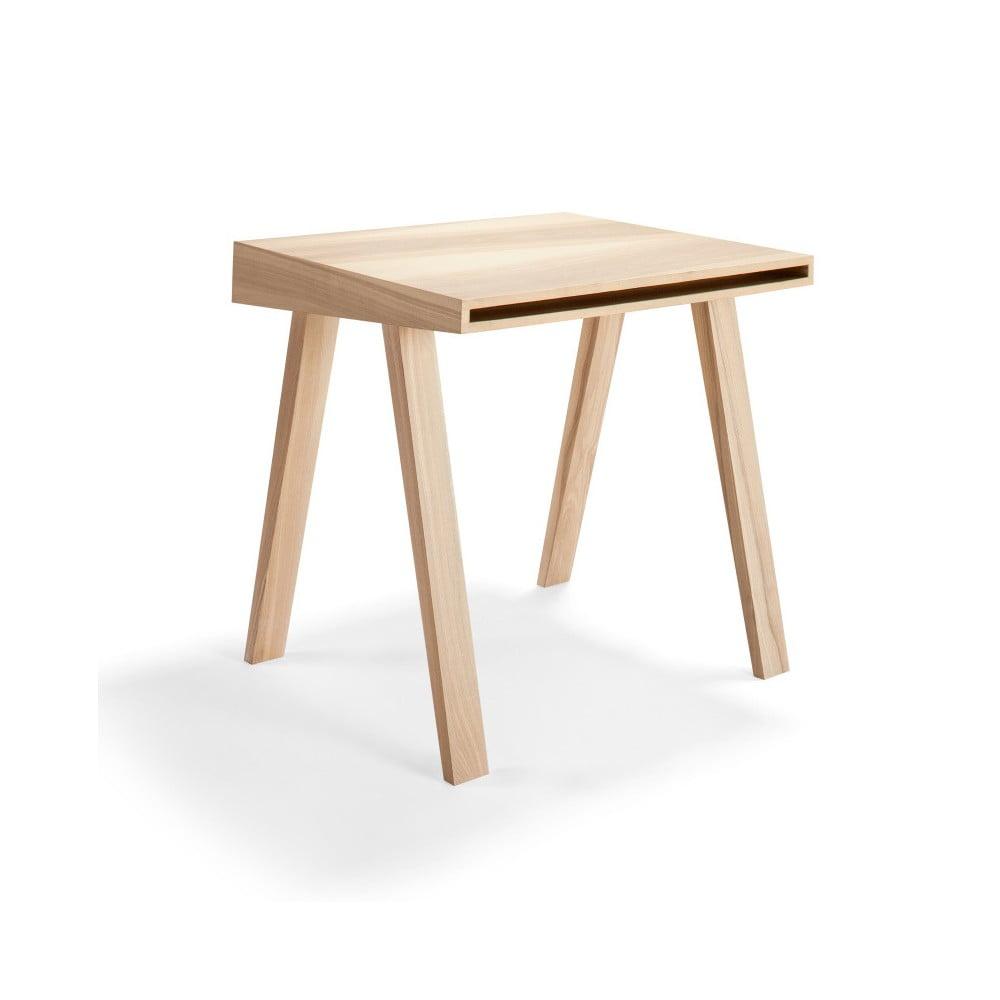 Psací stůl EMKO 4.9, 1 šuplík, litevský jasan