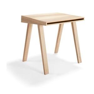 Psací stůl z litevského jasanu EMKO 4.9, 1 šuplík
