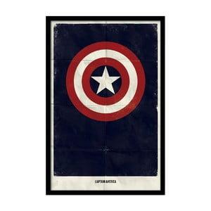 Plakát Captain Star, 35x30 cm