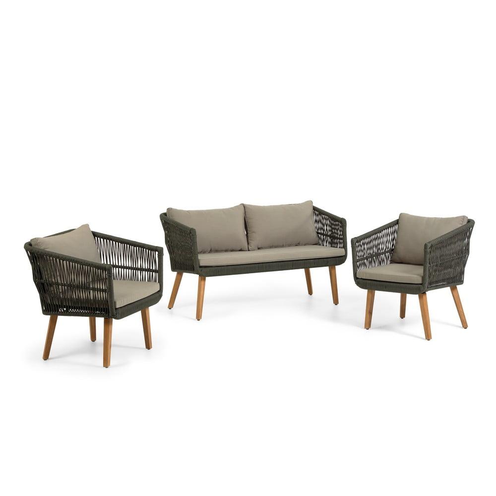 Set zahradního nábytku z akáciového dřeva La Forma Inti
