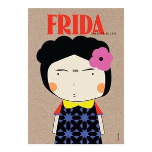 Plakát NiñaSilla Frida, 21x42cm