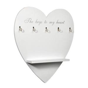 Držák na klíče Heart