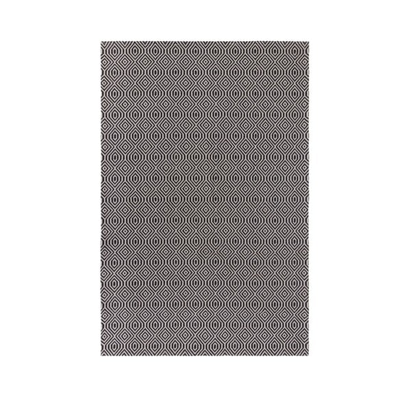 Covor Flair Rugs Pappel, 114 x 170 cm, negru