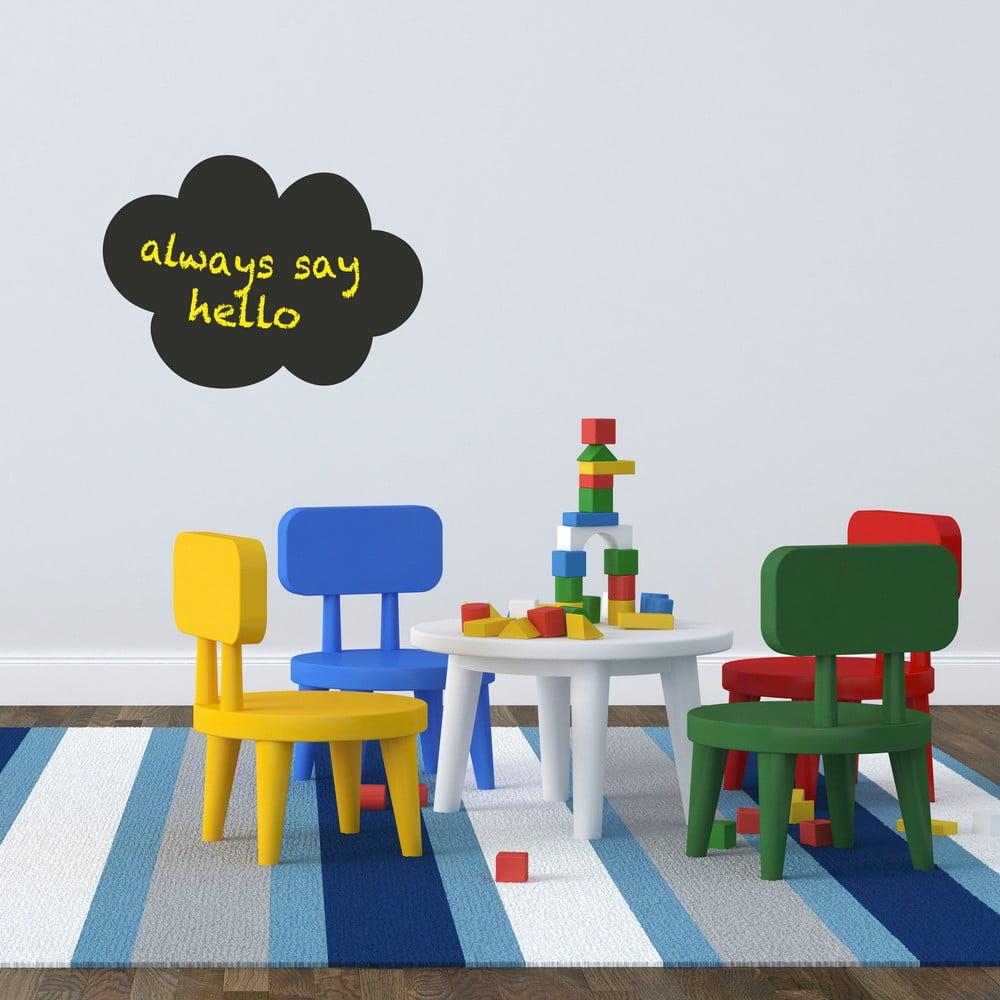 tabulov popisovac n lepka na st nu little nice things cloud bonami. Black Bedroom Furniture Sets. Home Design Ideas
