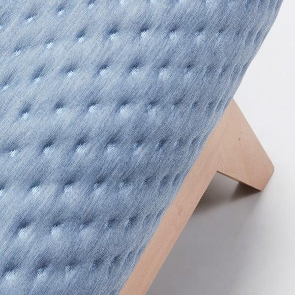 Světle modrá rozkládací pohovka La Forma Kiko
