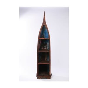 Knihovna z recyklovaného teakového dřeva Kare Design Boat Trip