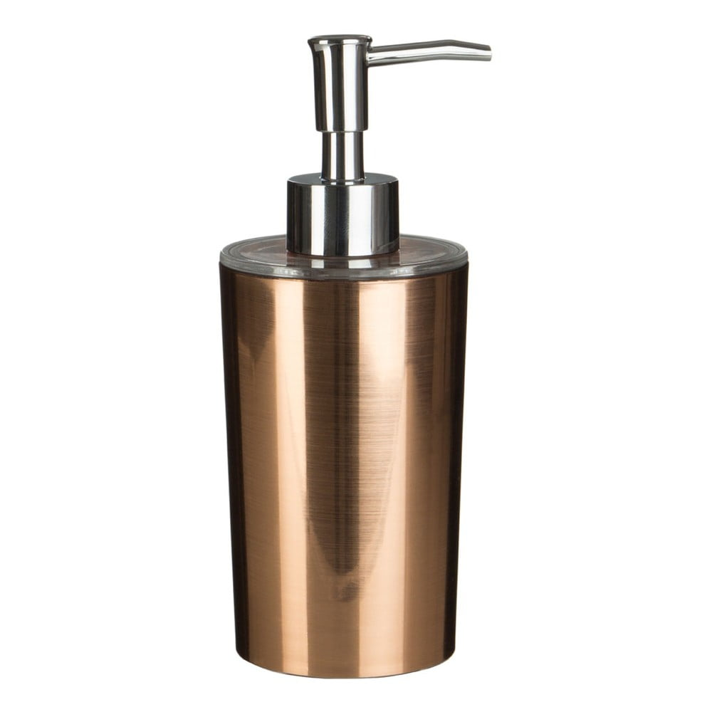 Dávkovač na mýdlo v barvě růžového zlata Premier Housewares Shine,275ml