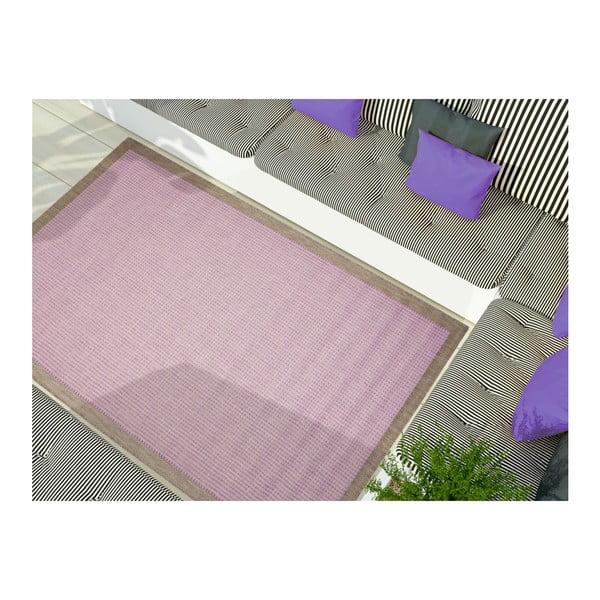 Covor potrivit pentru exterior Floorita Chrome Plum, 135 x 190 cm