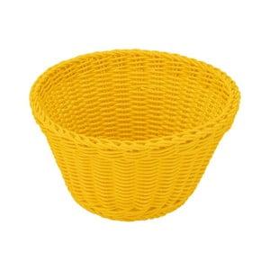 Košík Korb Yellow, 18x10 cm