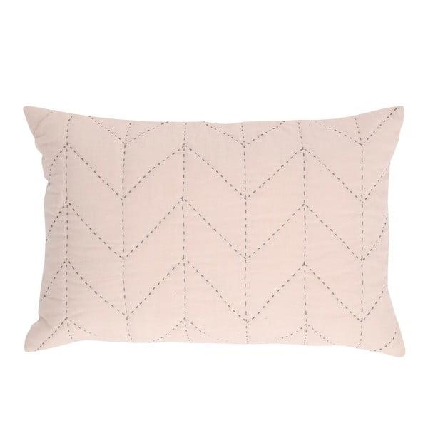 Růžový polštář A Simple Mess Molly, 40x60cm