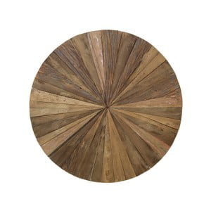 Dřevěná nástěnná dekorace HSM Collection Sun, Ø 80 cm