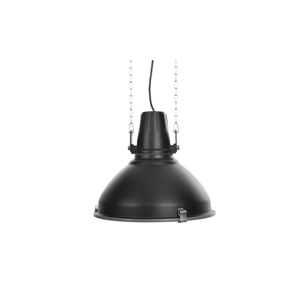Černé stropní světlo NORR11 Industrial Lamp