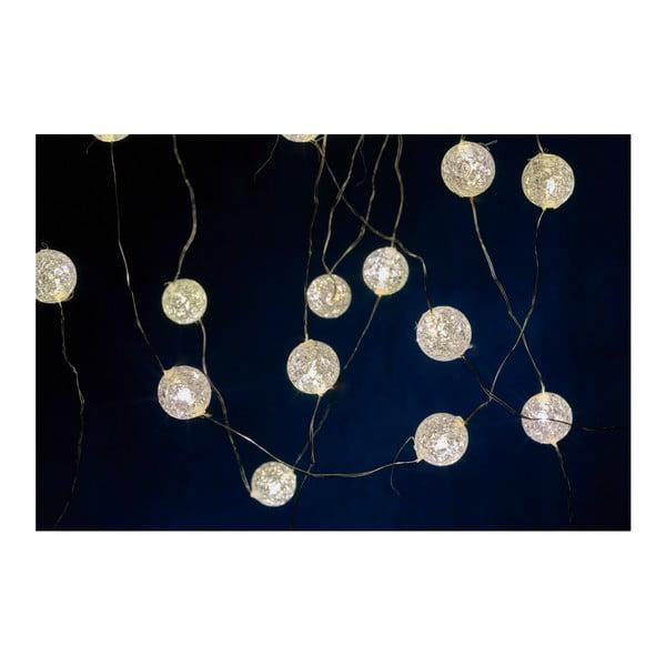 Světelný LED řetěz Villa Collection Frozen, 40 světýlek