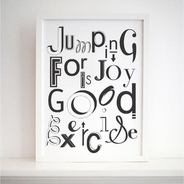 Plakát Karin Åkesson Design Jumping For Joy, 30x40 cm