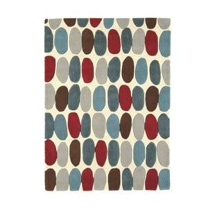 Vlněný koberec Sofia Red Teal 160x230 cm