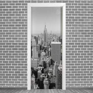 Samolepka na dveře LineArtistica New York Uno, 80 x 215 cm