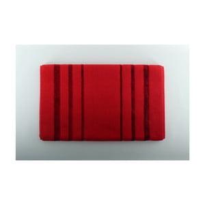Červená koupelnová předložka U.S. Polo Assn. Charleston, 60x100cm
