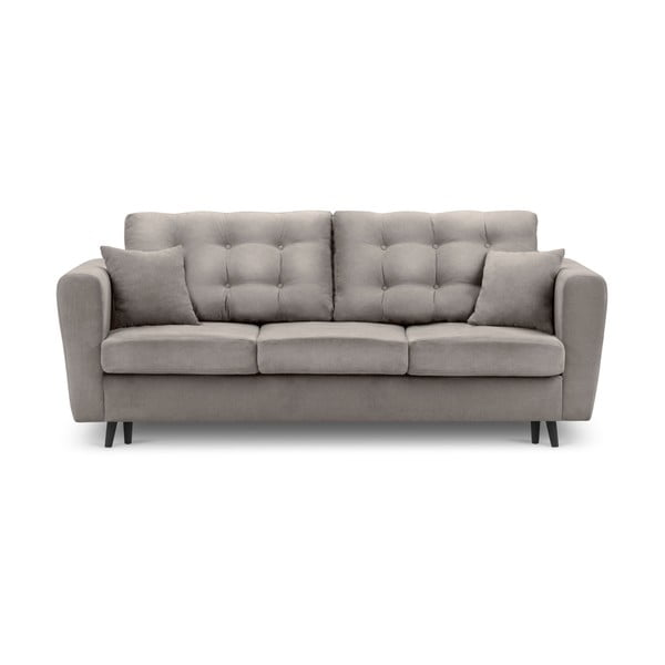 Chillout bézs kinyitható kanapé tárolóval - Kooko Home