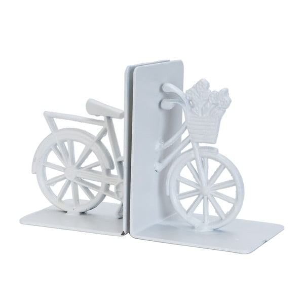 Zarážky na knihy Bicyckle, bílé