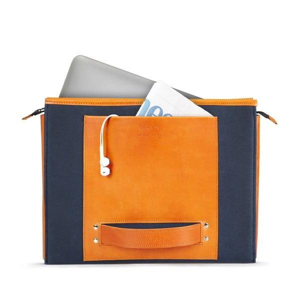 """HANDO aktovka/taška na notebook 11-13"""" Cognac"""