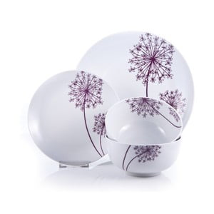 Porcelánový set Allium, 12 ks