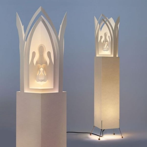 Svetelný objekt MooDoo Design Betlehem Praha, výška 110 cm
