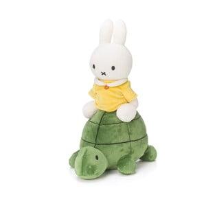 Plyšový králík Miffy na želvě, 23 cm