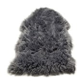 Koberec Single Sheepskin Grey, 100x100 cm