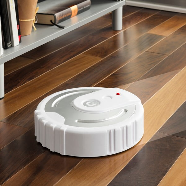 Robot smart pentru curățare podea InnovaGoods Floor Cleaner, alb