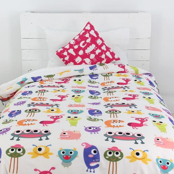 Povlak na peřinu a polštář Sweet Monsters 140x200 cm