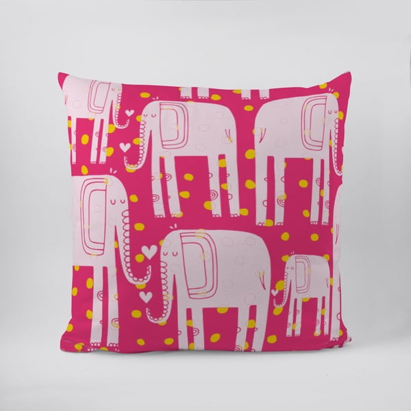 Polštář Lovely Elephants