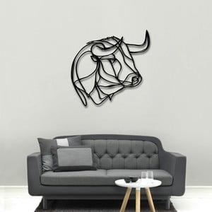 Nástěnná dřevěná dekorace Bull Head