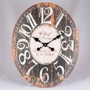 Dřevěné hodiny Vintage