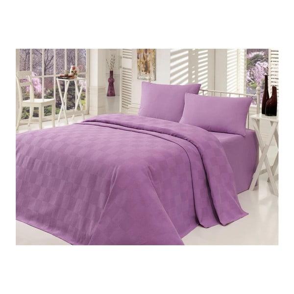 Cuvertură pentru pat Barbara, 160x230cm, mov