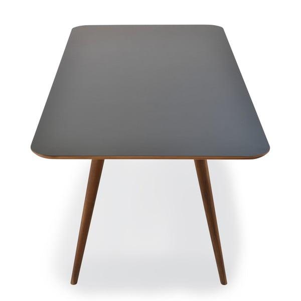 Jídelní stůl z dubového dřeva Gazzda Linn, 160x90x75cm