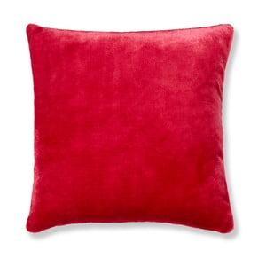 Červený povlak na polštář Catherine Lansfield Basic Cuddly, 55x55cm