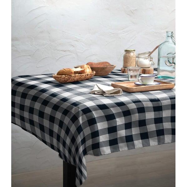 Față de masă Linen Couture Blue Vichy, 140 x 200 cm