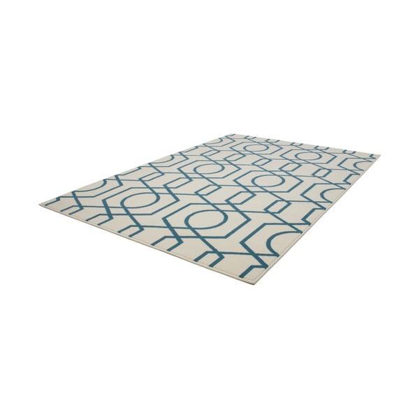 Modro-šedý koberec Kayoom Stella 400 Blue, 120x170cm