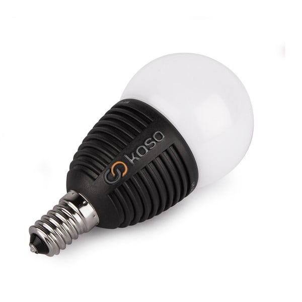 Chytrá LED žárovka s možností bluetooth ovládání Veho Kasa, E14