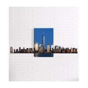 Nástěnný 3D obraz Mosticx New York Skyline, 40 x 60 cm