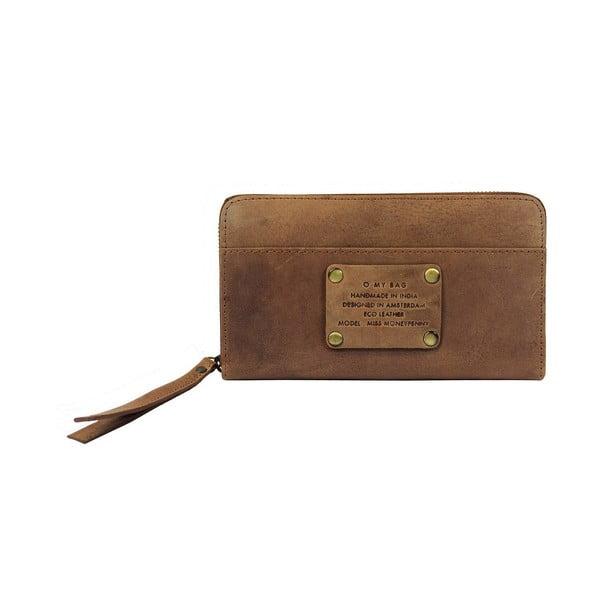 Kožená peněženka Miss Moneypenny, velbloudí
