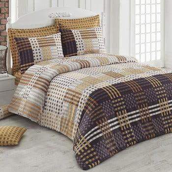 Lenjerie de pat cu cearșaf Cameron, 200 x 220 cm