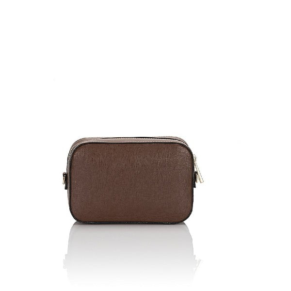 Kožená kabelka Giorgio Costa 15010 Brown