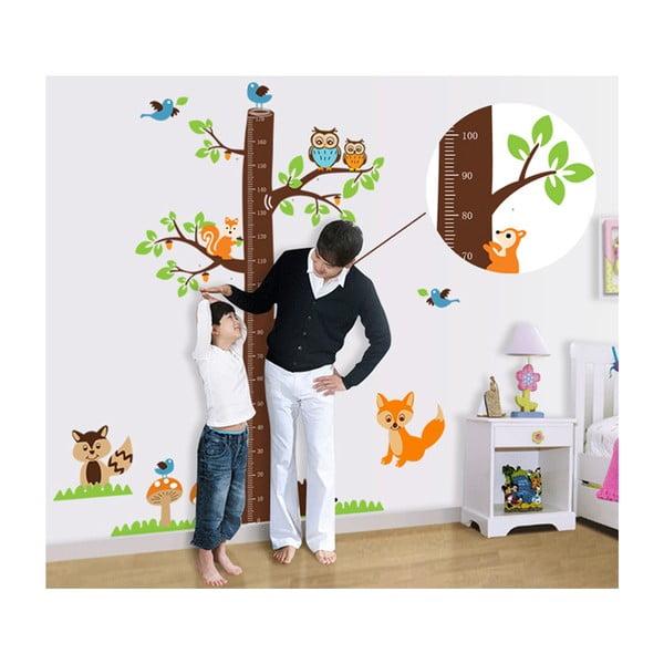 Samolepka na stěnu Dětský metr
